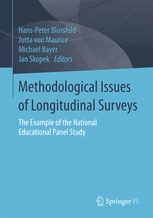Buchcover: Methodological Issues of Longitudinal Surveys